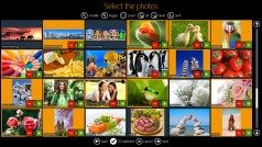 Software DiLand Kiosk - choose photos